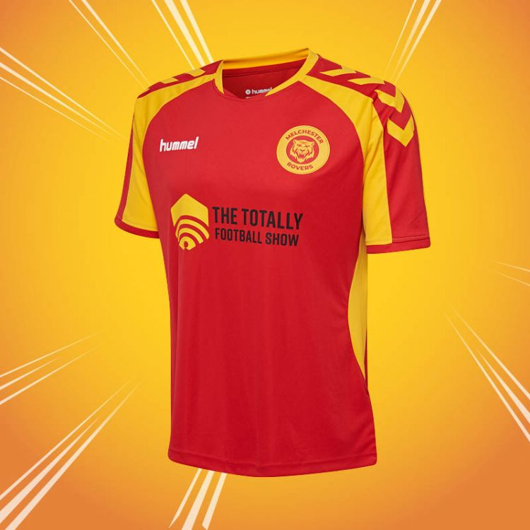 The Official Melchester Rovers Home Shirt  2018/19