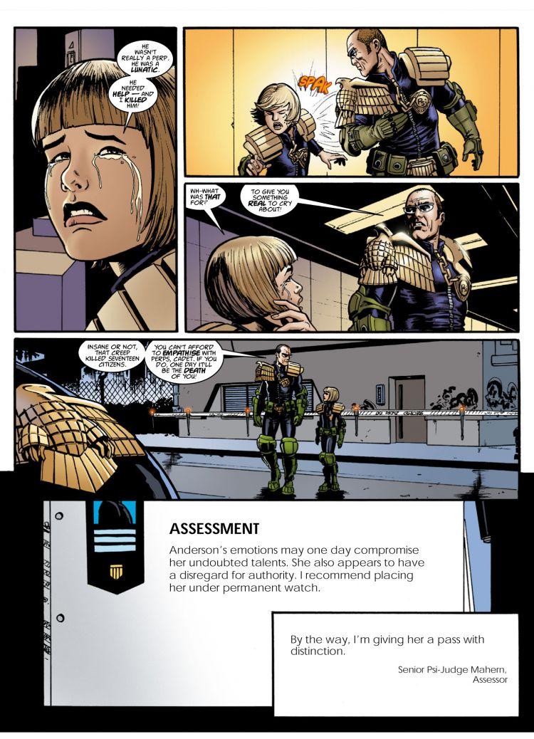 2000 AD Shop : Cadet Anderson: Teenage Kyx