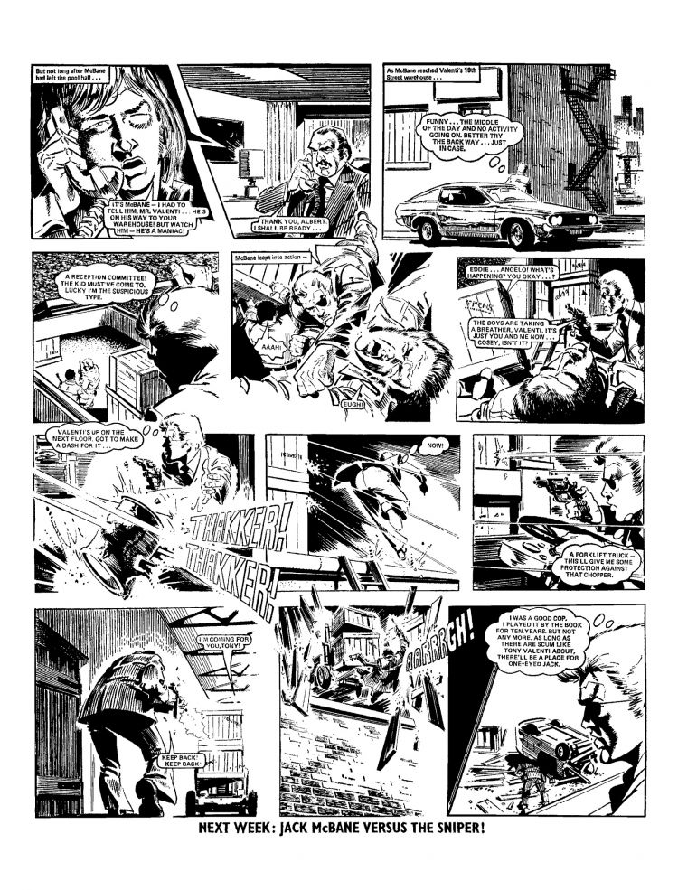 Comic strip character lucky eddie something