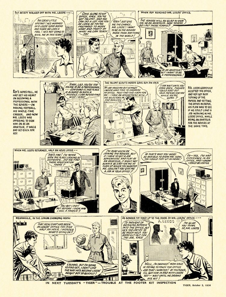 Treasury British Comics Shop : Roy of the Rovers: Best of '50s