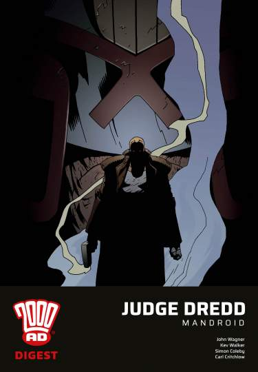 Judge Dredd: Mandroid - Digest