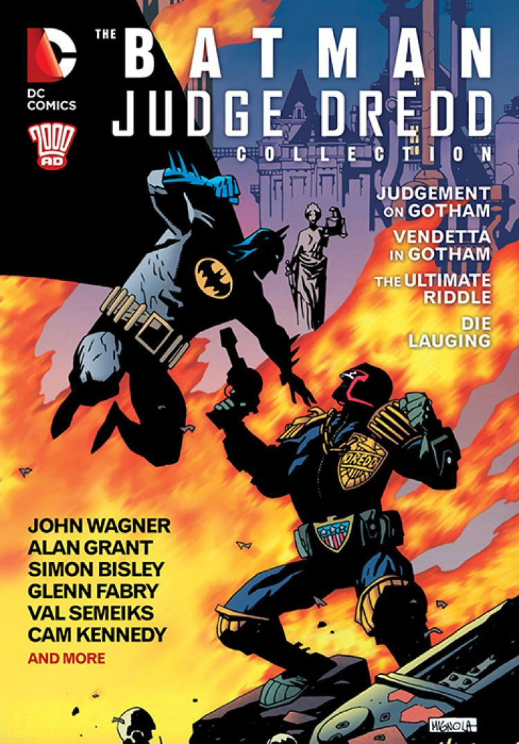 Batman Judge Dredd Collection
