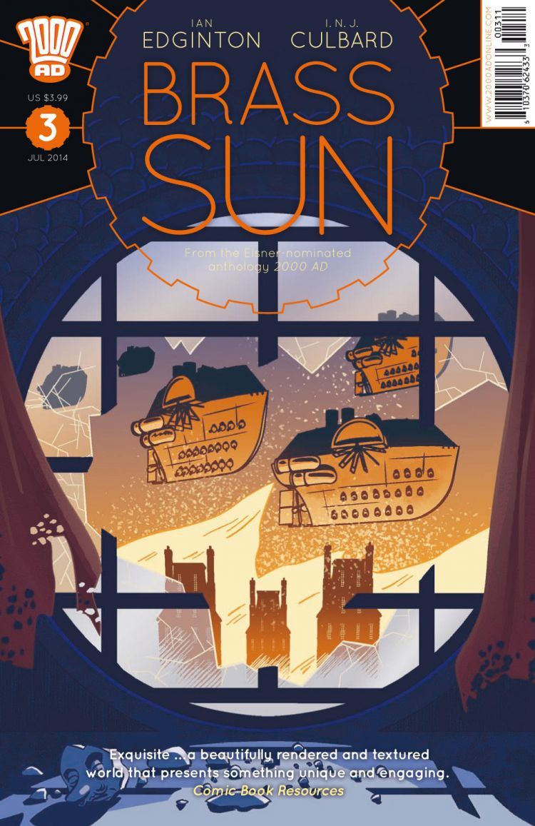 Brass Sun Issue #3