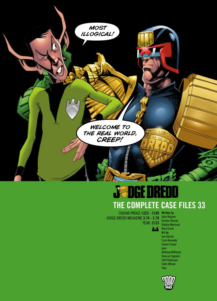 Judge Dredd: Case Files 33