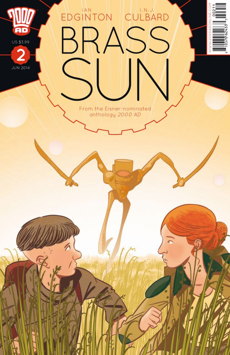 Brass Sun Issue #2