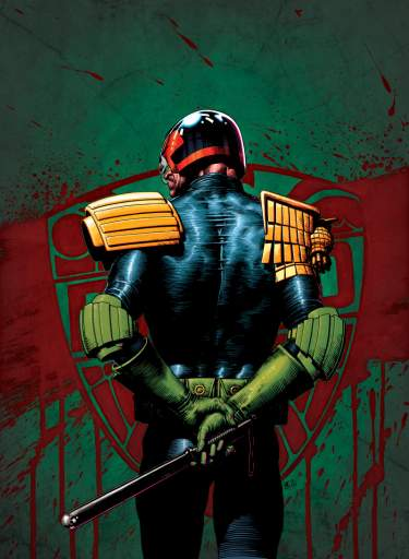 A3 Tom Foster Judge Dredd Poster