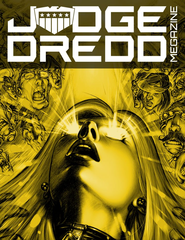 2012 Complete Judge Dredd Megazine Collection