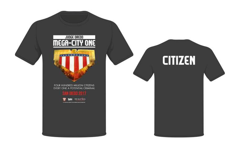 SAN DIEGO 2017 EXCLUSIVE CITIZEN T-SHIRT