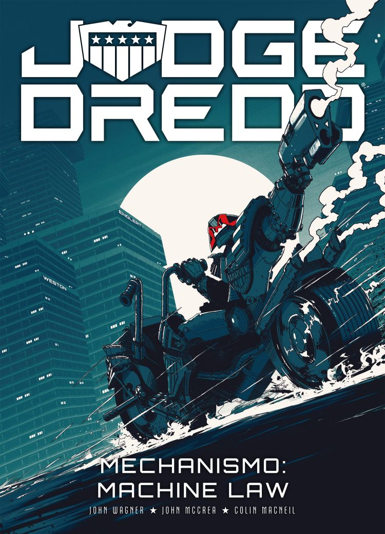 Judge Dredd – Mechanismo: Machine Law