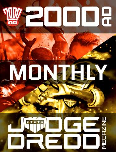 Monthly Combi 2000 AD Subscription