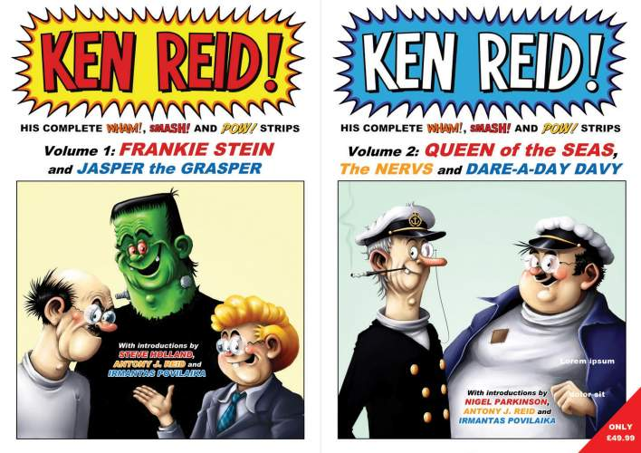 Ken Reid - Complete Wham! Smash! And Pow! Bundle