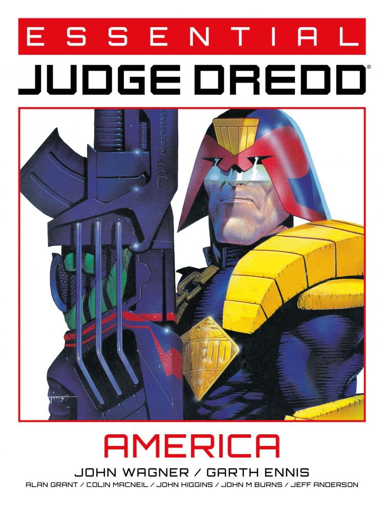 Essential Judge Dredd: America