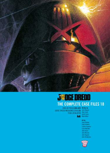 Judge Dredd: Case Files 18