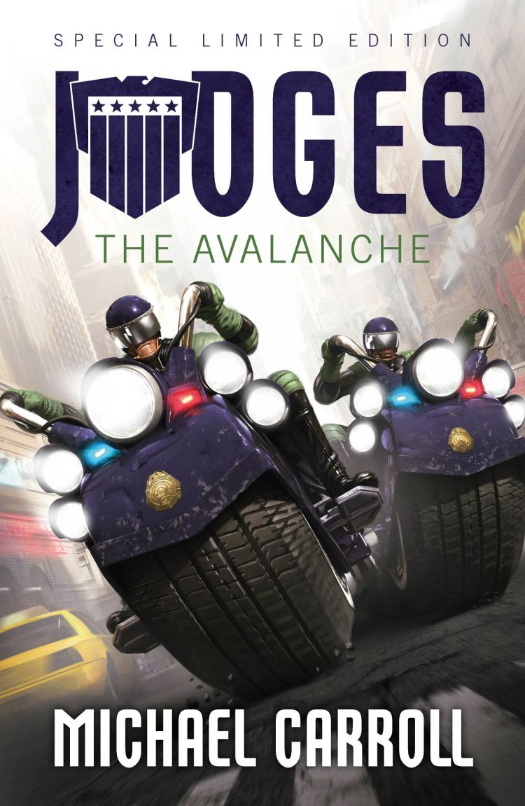 Judges: The Avalanche Special Limited Edition Novella with Print