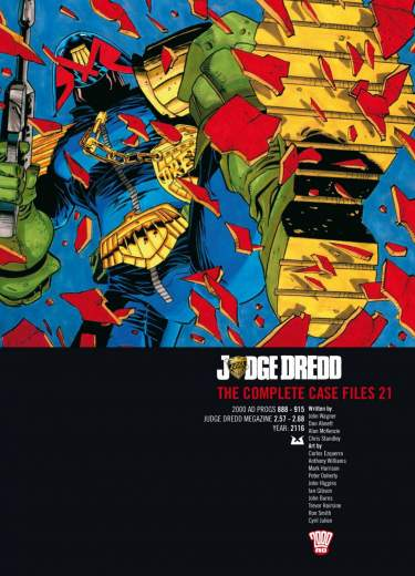 Judge Dredd: Case Files 21