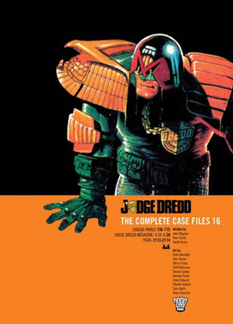 Judge Dredd: Case Files 16
