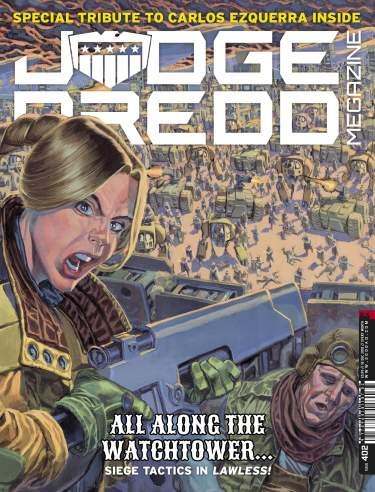 Judge Dredd Megazine 402