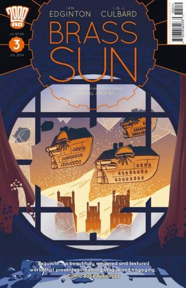 Brass Sun Issue Three