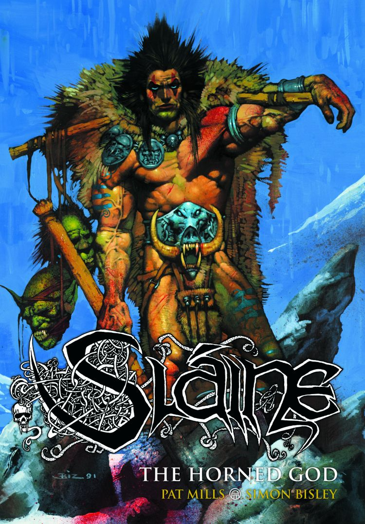 Sláine: The Horned God [Hardback]