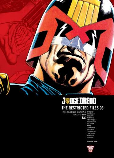 Judge Dredd: The Restricted Files 03