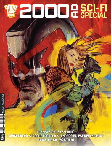 2000 AD Sci-Fi Special 2018 - Regular Cover