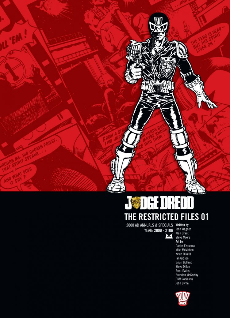 Judge Dredd: The Restricted Files 01