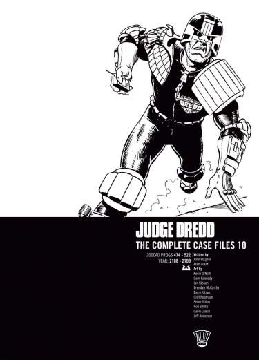 Judge Dredd: Case Files 10