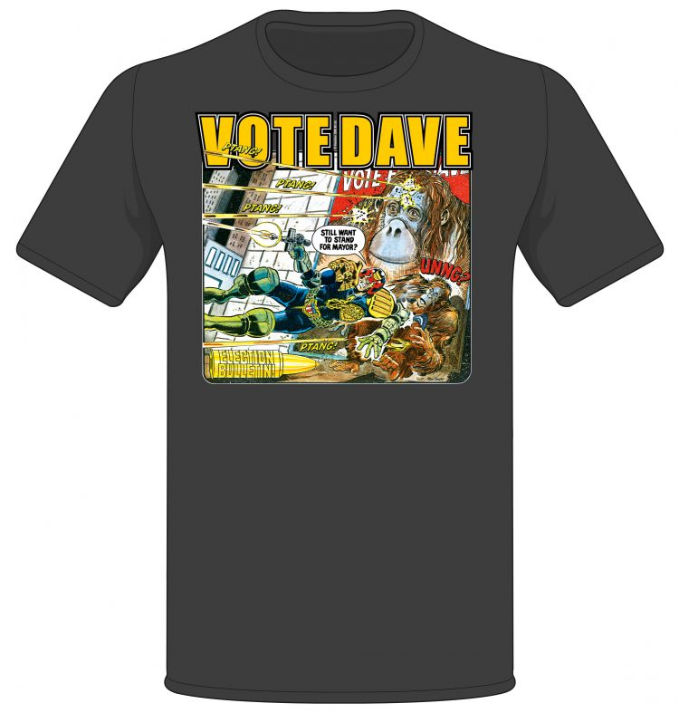 'Vote Dave!' Prog 369 Cover T-shirt