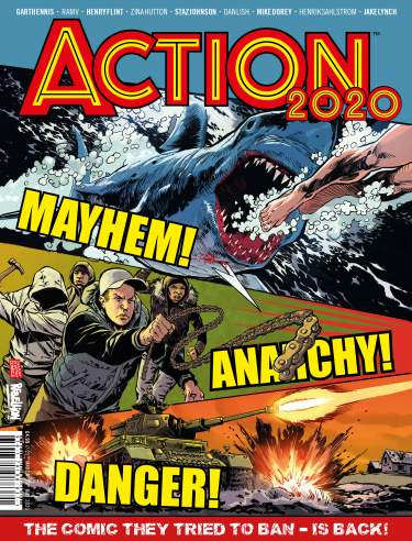 Action 2020 Special [With Banned Issue]