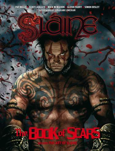 Sláine: Books of Scars, inc. The Art of Scars