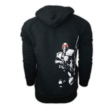 PREMIUM David Aja Smoking Gun Judge Dredd Hoodie
