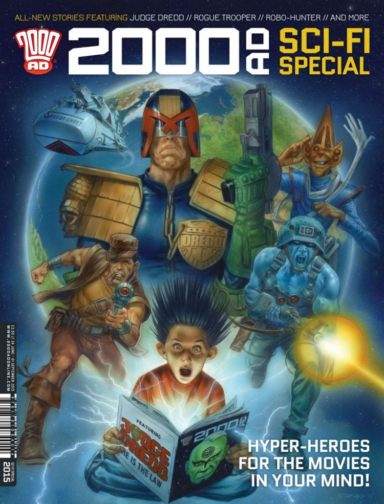 2000 AD Sci-Fi Special 2015