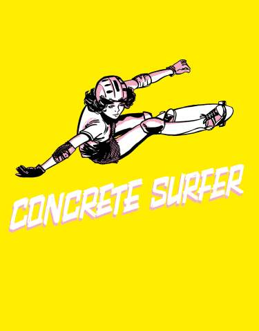 The Concrete Surfer Webshop Exclusive Hardcover