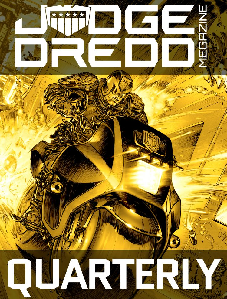 Quarterly Judge Dredd Megazine Subscription