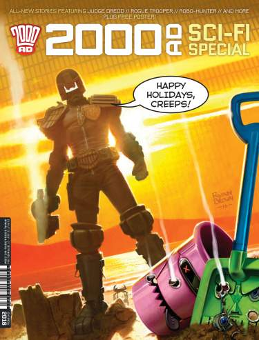 2000 AD Sci-Fi Special 2016