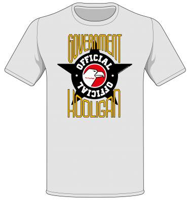 'Official Government Hooligan' T-shirt