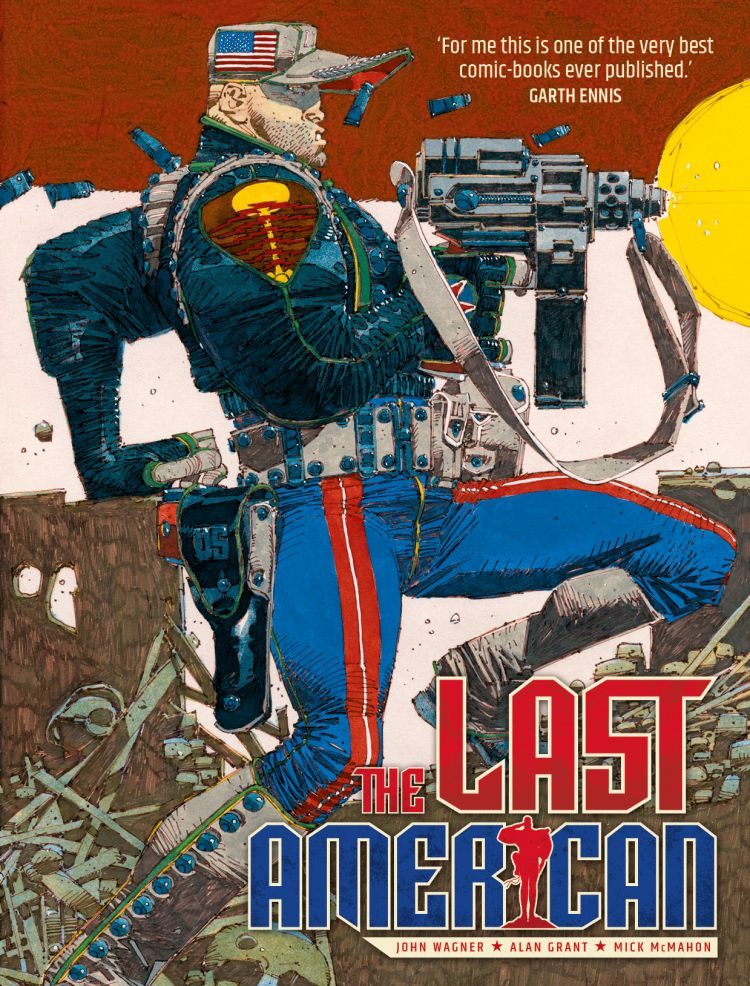 The Last American [Standard Edition Paperback]