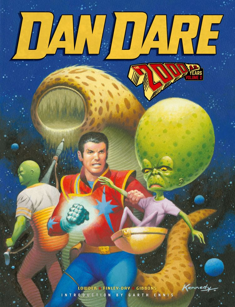Dan Dare - The 2000 AD Years - Vol. 2