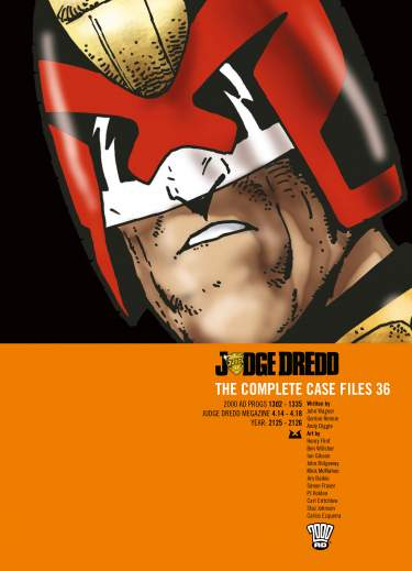 Judge Dredd: Case Files 36