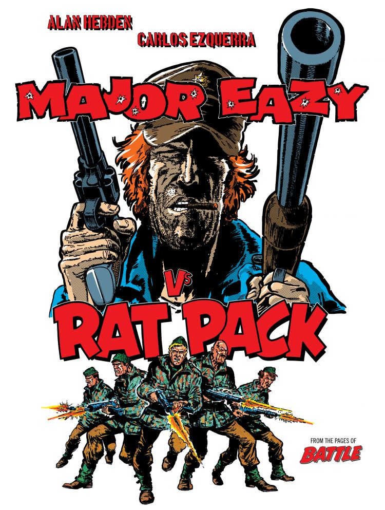 Major Eazy Vs Rat Pack Webshop Exclusive Hardcover