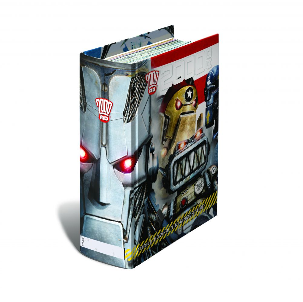 2000 AD THRILL-CONTAINMENT BINDER, LTD EDITION (Clint Langley Design)