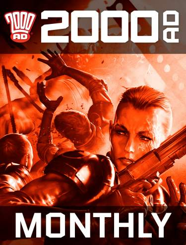 Monthly 2000 AD Subscription
