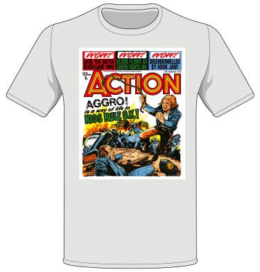 Action: Kids Rule OK! T-shirt