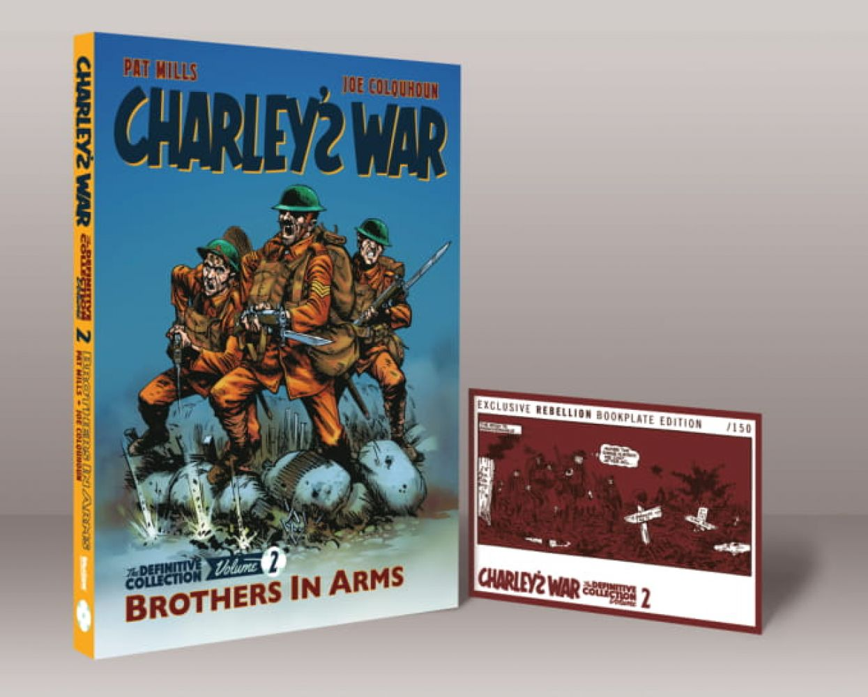 Charley's War 02 Bookplate Edition