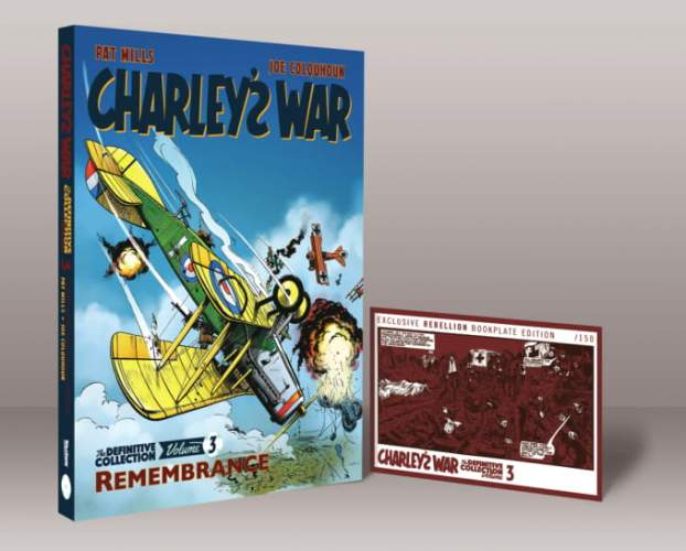 Charley's War 03 Bookplate Edition