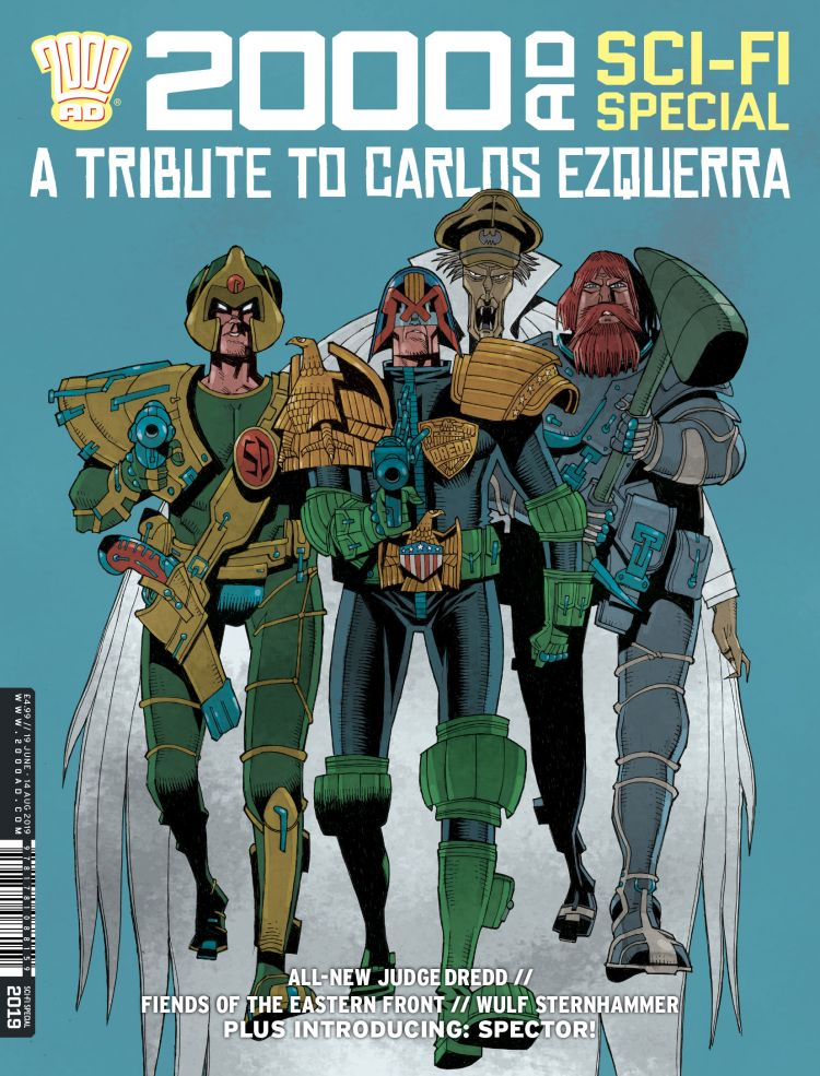 2000 AD Sci-fi Special 2019