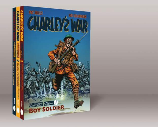 Charley's War Volumes 1, 2 and 3 Bundle