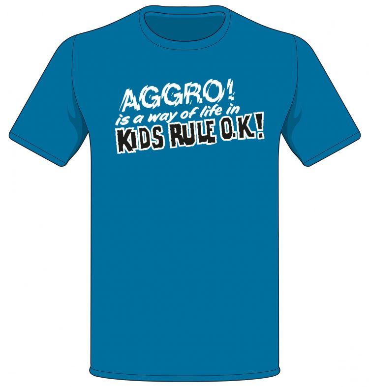 Aggro Kids Rule OK! T-shirt