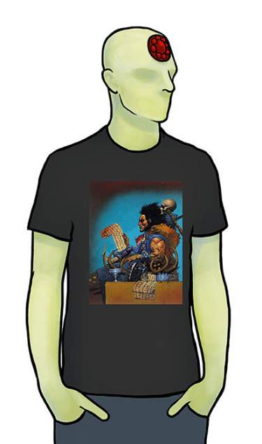 Sláine 30th Bisley Black T-Shirt