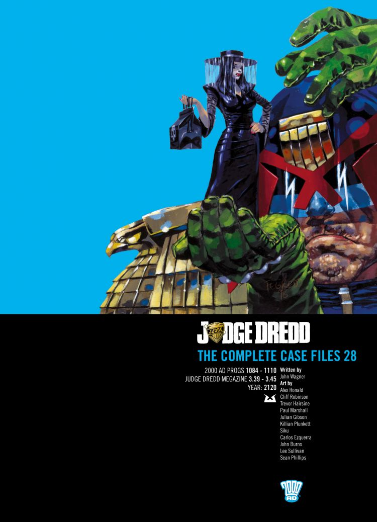 Judge Dredd: Case Files 28